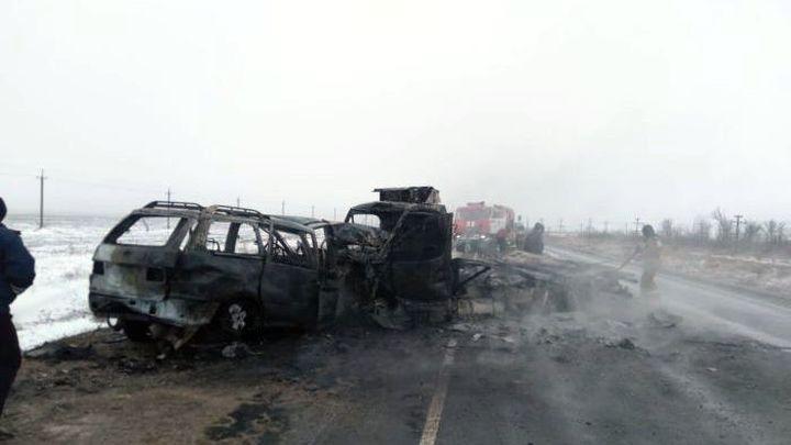 Оренбургдагы жол кырсыгынан төрт кыргызстандык каза болуп, төртөө ооруканага жаткырылды