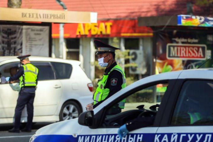 ИИМ: «Сойку ташыган милиционер тууралуу маалымат жалган»