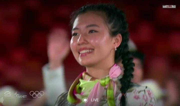 Ок атуучу спортчу кызыбыз Каныкей Кубанычбекова мелдешке чыгып,48-орунду ээледи