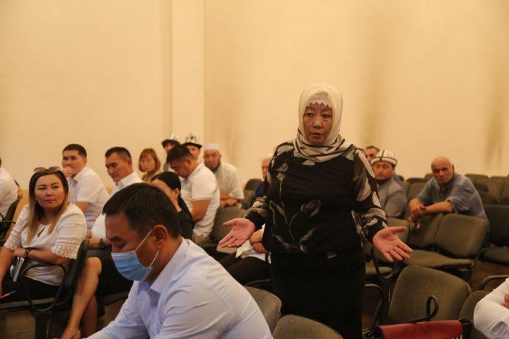Терроризм жана экстремизмди алдын алууга багытталган семинар Чүйдө болуп өттү