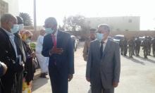 لحظة وصول الوزير إلى الولاية وحفل الإستقبال الذي خصص له من قبل الوالي/ الأخبار