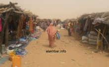 سوق الأربعاء في معبر كوكي الزمال الحدودي مع جمهورية مالي ـ (أرشيف الأخبار)
