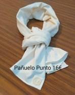 Pañuelo Punto algodón 160gr. 16 euros