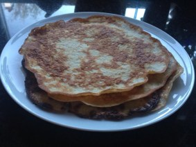 as savory pancakes/wraps