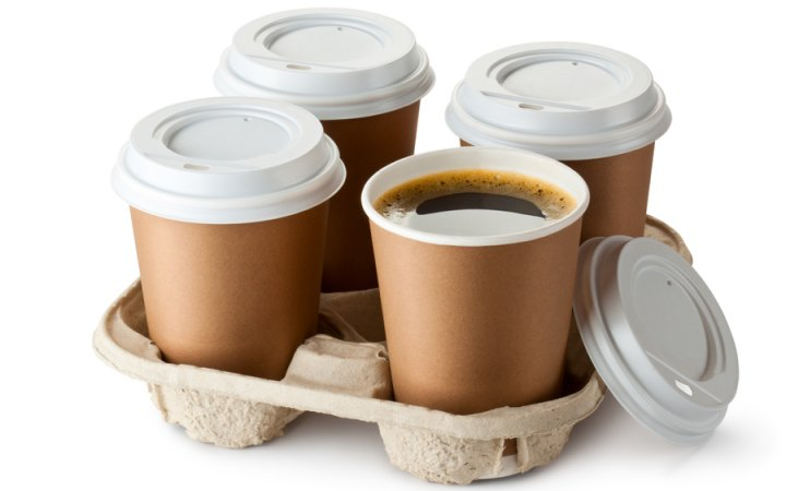 أغطية أكواب القهوة