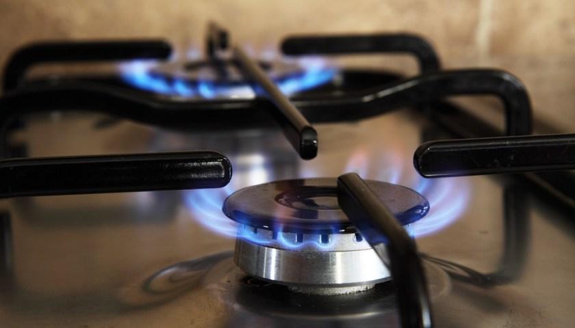لهب الغاز المنزلي