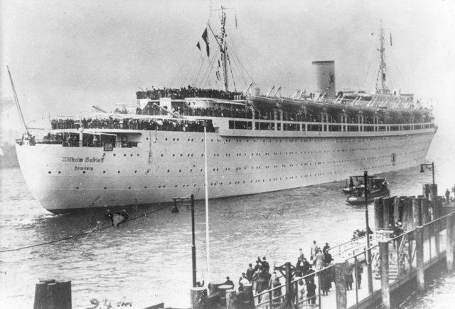 Wilhelm_Gustloff أعظم كوارث السفن في التاريخ