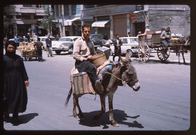 دمشق القديمة سوريا 1960 (6)