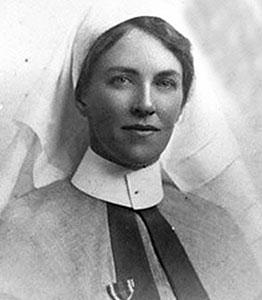ماري آن بيفان قبل بداية المرض
