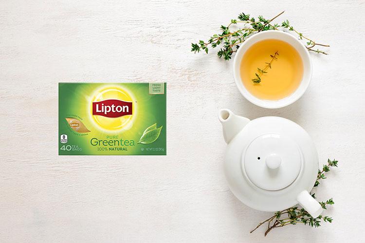هل شاي ليبتون الأخضر ينحف