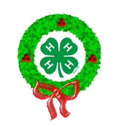 alamance county 4 h wreath and garland sale north carolina cooperative extension [ 1024 x 791 Pixel ]