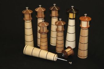 Lighthouse Pepper Mills
