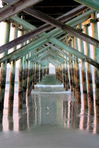 Ocean Isle Pier at Sunrise: Photography