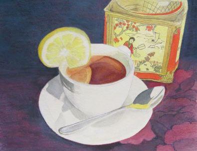 Tea Anyone: Mixed Media