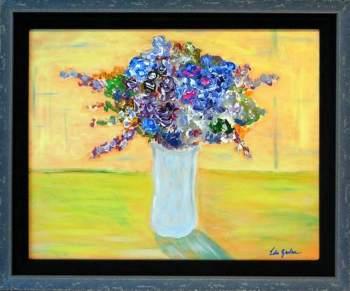 Loosey Juicy Fleurs 8, 16x20, acrylic on canvas