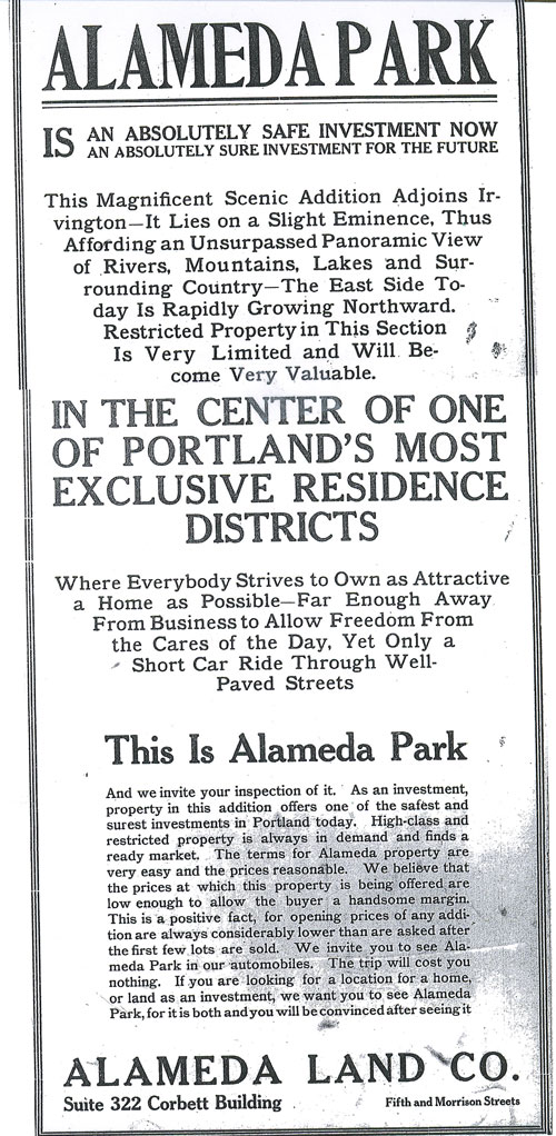 From The Oregonian, March 16, 1909