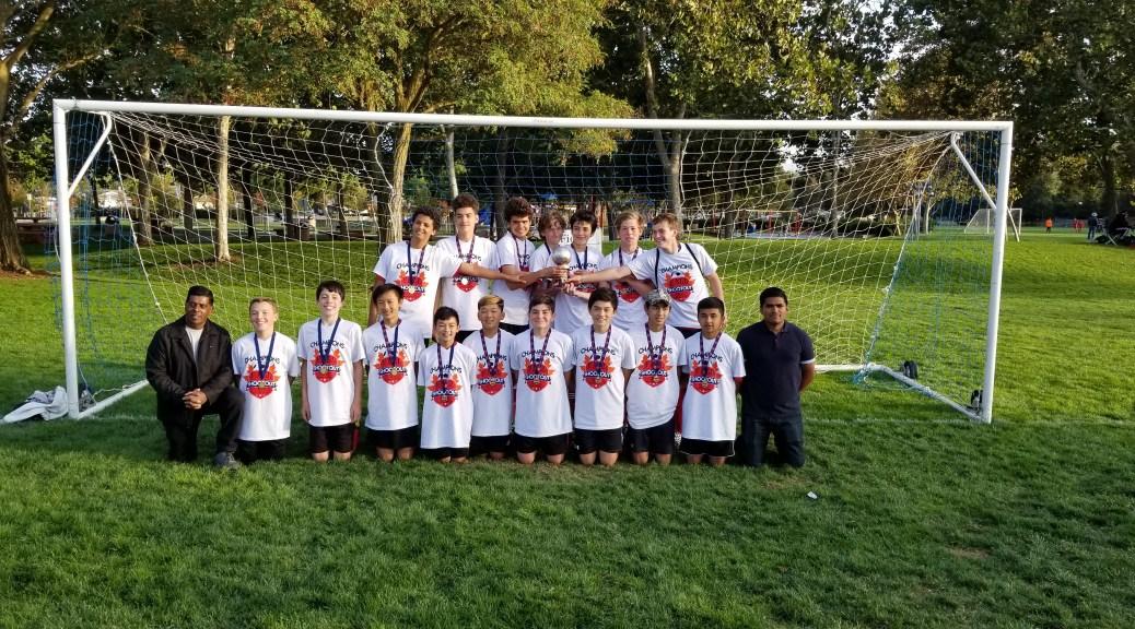 U16 Boys Champions