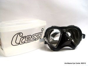 Cressi Mask with prescription lenses