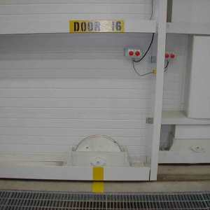 Bottom Rolling Hangar Door