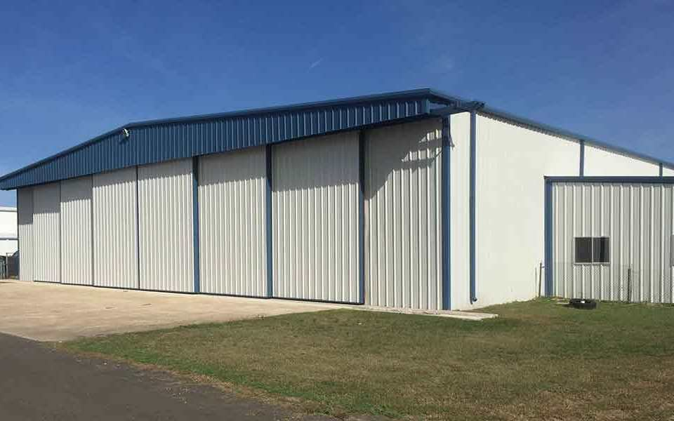 Bottom Rolling Hangar Door