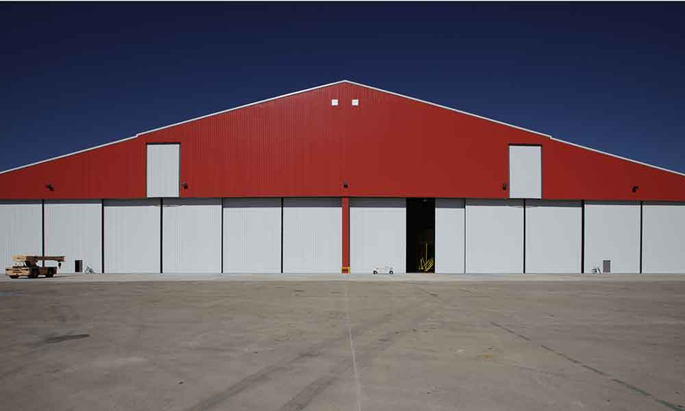 Bifold Aircraft Hangar Doors Alamo Hangar Doors
