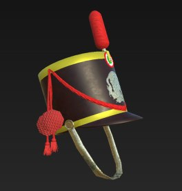 Mexican Infantry Shako 1836