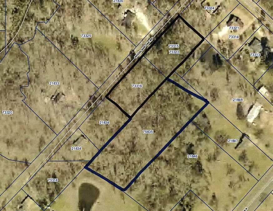 WOODLAND OAKS DR – GARRISON – 4.6 ACRES – $32,000 – MLS#2170752