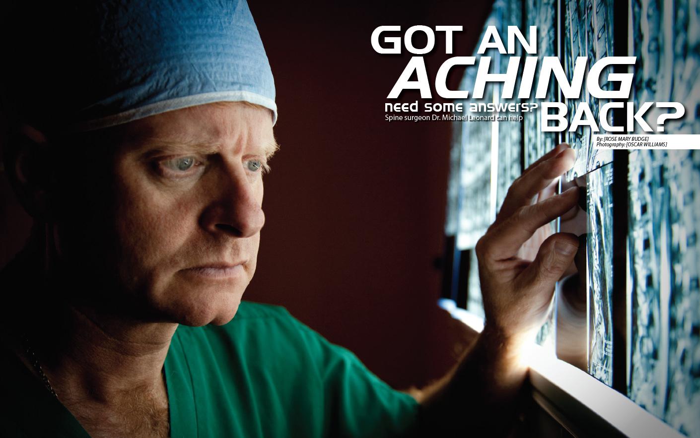 Aching Back - Fusion Surgery