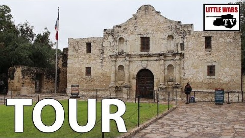 Where Is The Alamo Fort Located