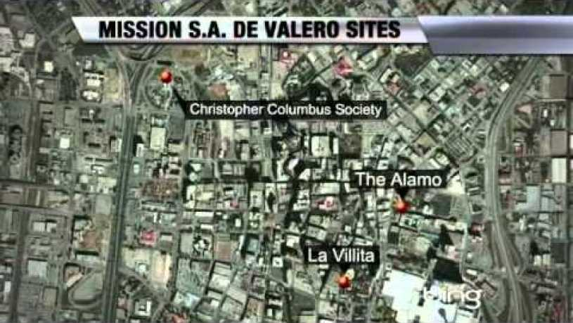 Where Is Alamo Located
