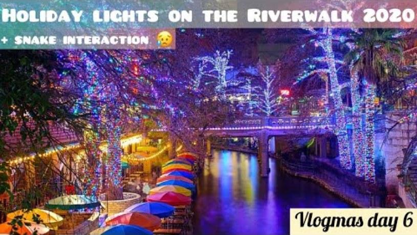 San Antonio River Walk Christmas