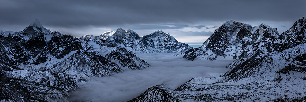 Kala Patthar Mountain - Mount Everest Landscape Photography