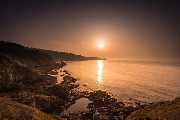 Howth sunrise along the cliff walk, Dublin, Ireland- Fine Art Print
