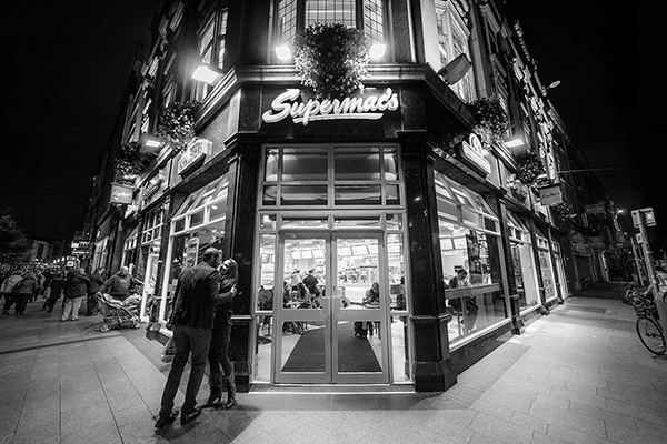 The shift at Supermacs Restaurant - O'Connell Street - Dublin