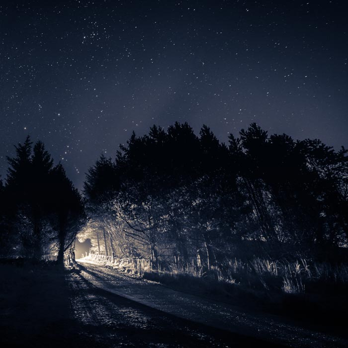 Light in the dark - Night Photography