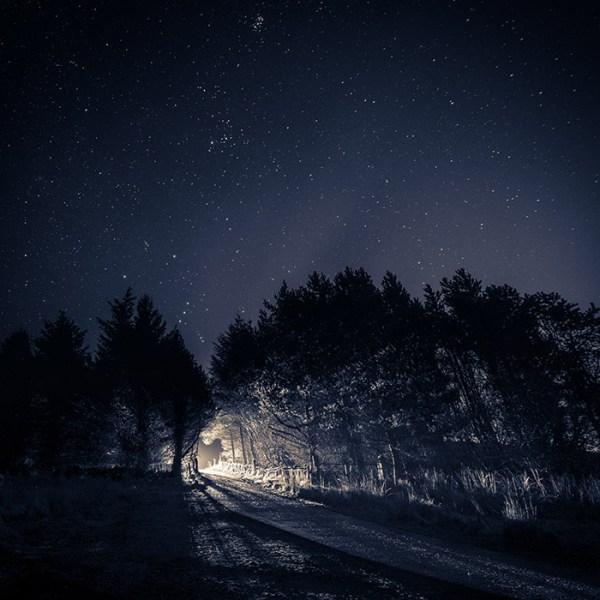 Starry night at Broughshane Photographic Print