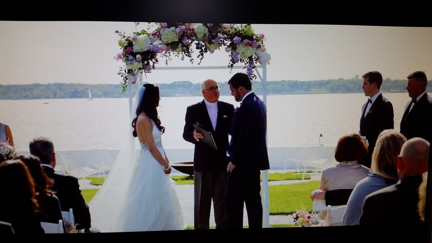 A Recent Newport Wedding…