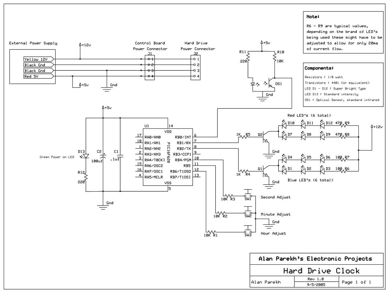 Hdd Schematic | Wiring Diagram on
