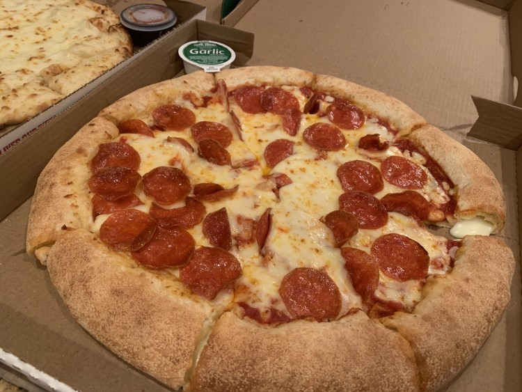 Papa John's Stuffed Crust Pepperoni