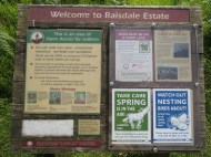 Raisdale Estate sign