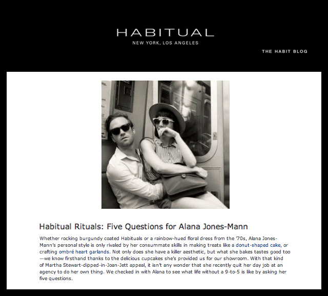 Habitual Blog - Press