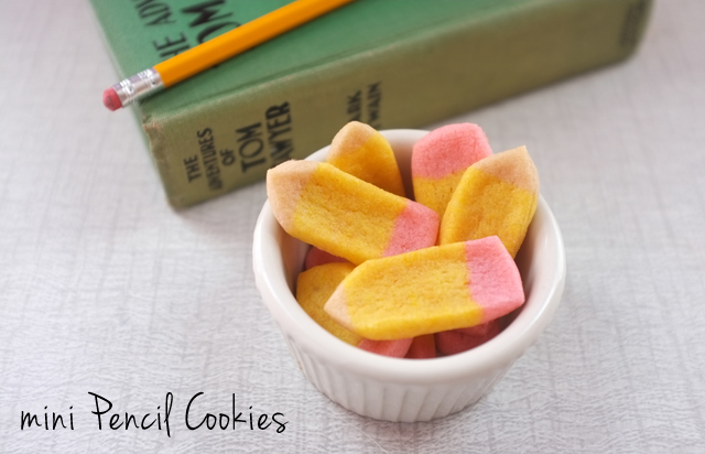 DIY PENCIL COOKIES
