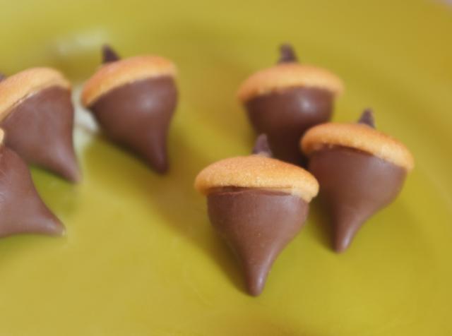 chocolate acorns