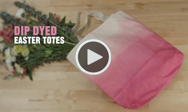 craft on_dip dyed tote