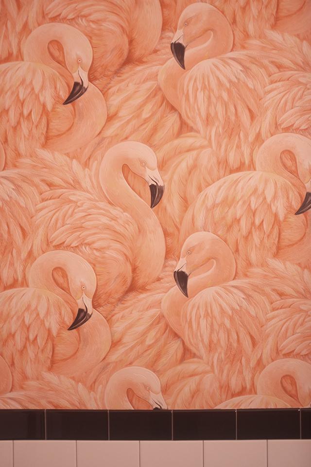 flamingo bathroom 1