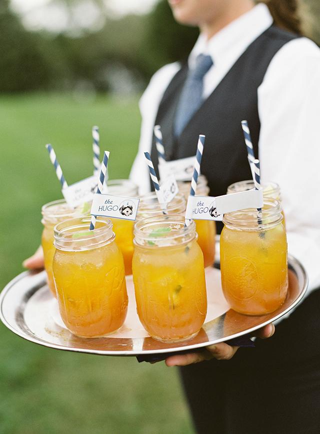 Auslander Wedding Drink Straws