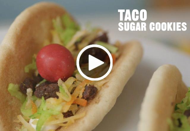 Craft On Taco Sugar Cookies