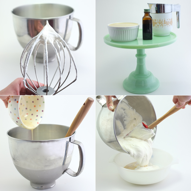 Ice Cream DIY steps