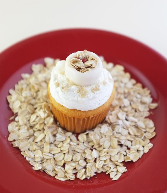 Oatmeal Cupcake