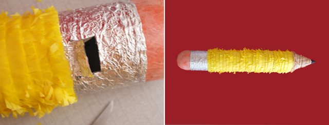 Pencil Pinata Step 3